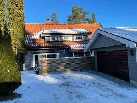 SOLGT: Bjørnstjerne Bjørnsons vei 4 (gnr 249, bnr 438) på Sofiemyr er solgt for kr 9.100.000.