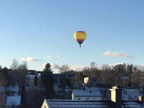 VAKKERT: Mange lar seg fascinere av synet av luftballonger.