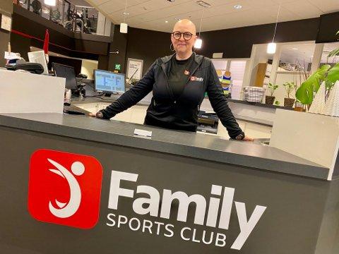 HOLDER STENGT: Kari Ottesen og Family Sports Club på Ski Storsenter holder stengt mandag og tirsdag denne uka etter at de ble eksponert for et koronasmittet medlem i forrige uke.