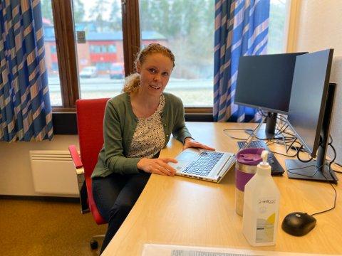 FLERE DOSER: Konstituert kommuneoverlege Monica Viksaas Biermann ser frem til enda flere doser neste uke.