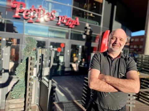 UTVIDER: Jan-Ole Damsgård har drevet og eid Peppes Pizza i Ski siden 2004. Nå vil han utvide med en avdeling i Oppegård/Kolbotn-delen av Nordre Follo.