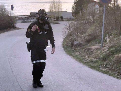 Tirsdag rykket politiet og nødetatene ut på Fagerstrand.