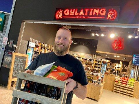 -  Det blir levering til oppsatte tider som man kan finne på våre nettsider, sier daglig leder for Gulating ølutsalg, Marius Sæthre.