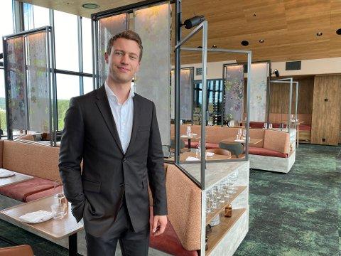 HAR IMØTEGÅTT FORVENTNINGENE: General Manager på The Well, André Julseth, er glad for å kunne tilby folk et avbrekk i hverdagen.