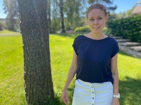 90 PROSENT: Hele 90 prosent av den voksne befolkningen i Nordre Follo har fått første dose av koronavaksinen. Det gleder konstituert kommuneoverlege Monica Viksaas Biermann.