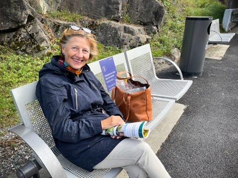 STORTRIVES: Randi Heinert har fått livskvalitet i bøtter og spann etter at hun flyttet til Langhus.