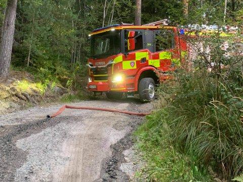 – Det er tørt ute, så vi er ikke overrasket over branner i skog eller mark, sier vaktleder Frode Johannessen hos Øst 110-sentral.