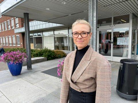 SMITTE:  Kommuneoverlege i Nordre Follo, Kerstin Anine Johnsen Myhrvold.