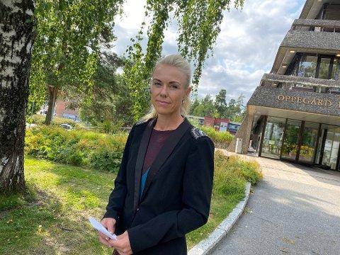 ANDRE KOMMUNER: Kommuneoverlege Kerstin Anine Johnsen Myhrvold i Nordre Follo har varslet kommuneoverlegene i nabokommunene om utbruddet.