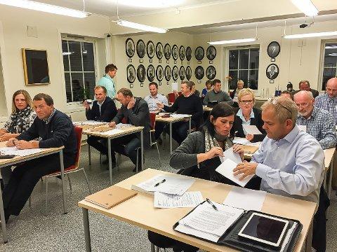 Nytt parti inn: Gry Anette Lie og Erik A. Sørensen er nye representanter for Lardal Tverrpolitiske Liste.
