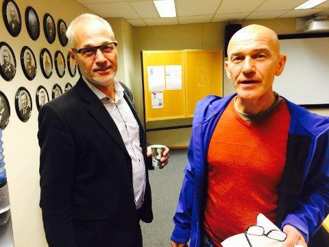 Ordførerne: Rune Høiseth fortsetter som ordfører, og får med seg Sps Olav Nordheim som varaordfører.