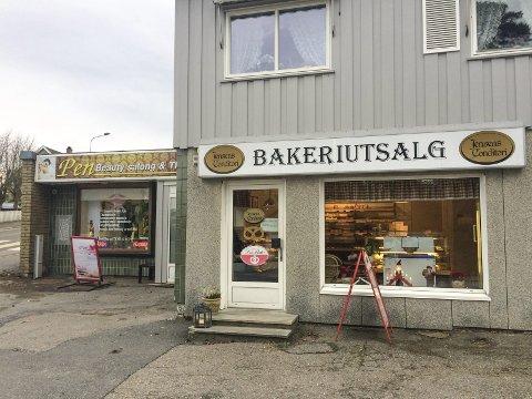 Naboer: Bakeriutsalget og Pen beautysalong er viktige for Byskogen.