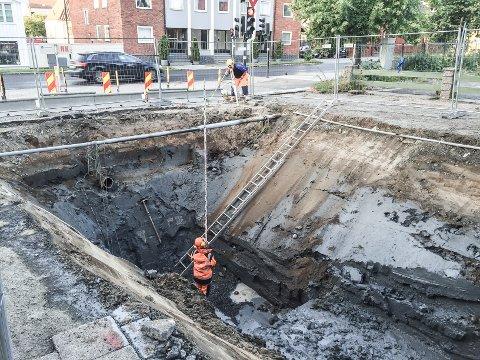 Overskudd: Renovasjonsdelen av kommunens VAR-regnskap gir overskudd i 2017. Det betyr avslag på de kommunale avgiftene for alle husstander i Larvik.