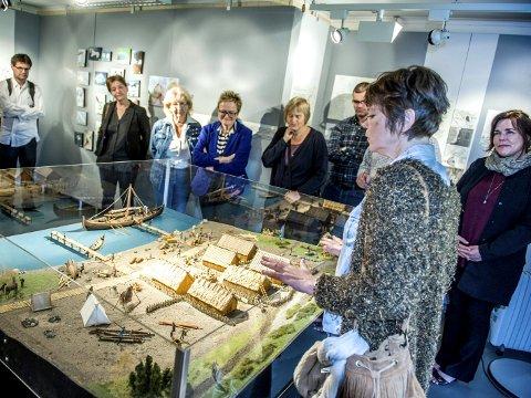 INGEN STØTTE:  Wenche Hellum og Kaupangprosjektet får ikke en krone fra Vestfold fylkeskommune til sitt arbeid siden Larvik kommune viser en lunken holdning til Kaupang.