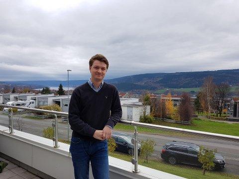 LANDSLAGET: Stian Lysnes er én av ti medlemmer på Norges første landslag i cybersikkerhet.