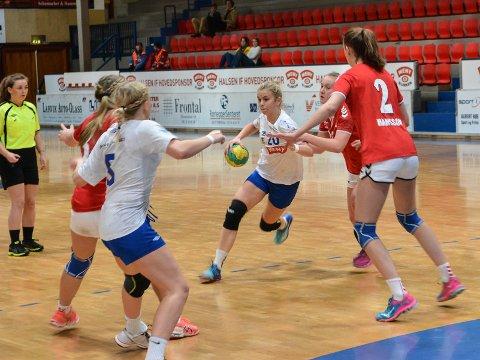 KLARSIGNAL: Håndballspillerne kan starte opp aktivitet i hall igjen.