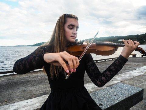 DRØMMER: Kristine Emilie Krüger fra Stavern er en av de som kan få drømmestipend i år.