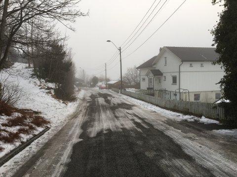 Her ble en 13 år gammel gutt fra Stavern påkjørt onsdag.