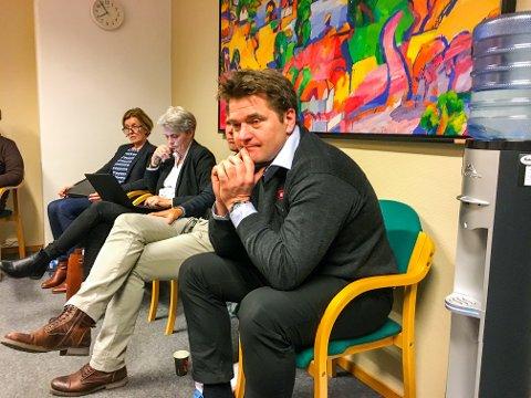 Skuffet: Kjøpmann Dag Arild Bakken måtte konstatere at et flertall av politikerne ikke vil ha pol i Helgeroa på nåværende tidspunkt.