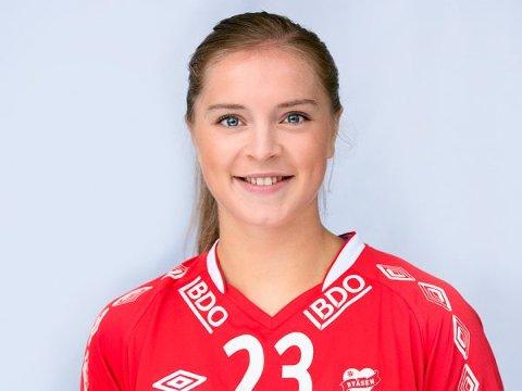Klar for Larvik HK: 20 år gamle Maria Hjertner er klar for Larvik Håndballklubb.