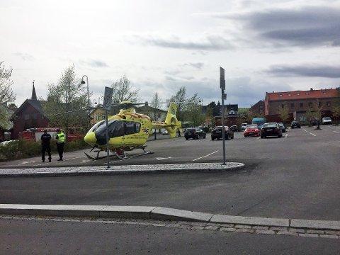 TRAGISK UTFALL: Det første ambulansepersonellet ankom stedet nærmere 40 minutter etter at det ble ringt etter hjelp.