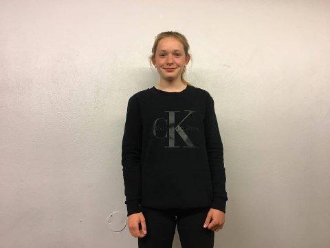 TALENT: Emily er 1 av 60 unge jenter som er tatt ut til å delta på Statoils Talentleir.