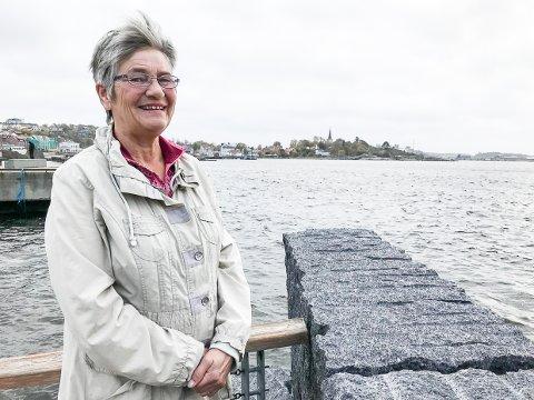 LYD FRA KIRKEN: – Larvik menighetsråd behandlet denne saken i mai, og vi gikk inn for ringing fra Larvik kirke tre ganger per dag, sier Eva Thrane Nielsen, leder Larvik menighetsråd.