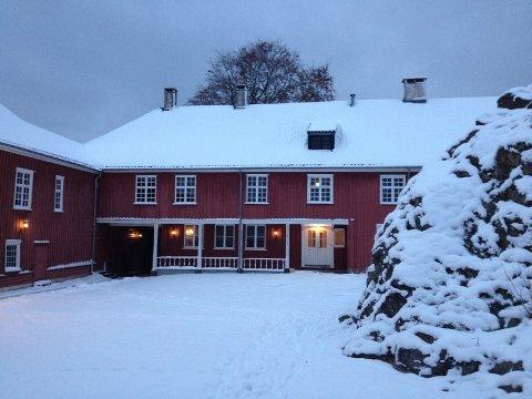JUL: Både Herregården og Verksgården er ramme for julestemning denne helgen.