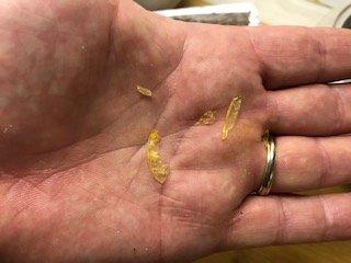 IKKE GODT I TACO: Små harde plastbiter gjorde tacomiddagen til en ubehagelig opplevelse. Produsenten av kjøttdeigen beklager hendelsen.