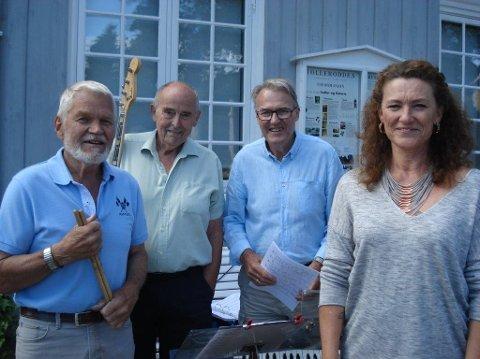 TRADISJON: Marys Trio hører til på Tollerodden, og spiller fler onsdager i sommer også.