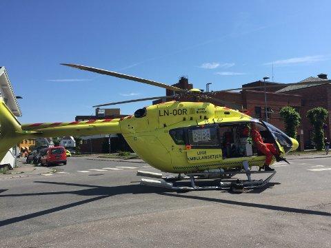 Politiet sperret i 13-tida lørdag av et område i Sverresgate. Trolig ble det gjort fordi et ambulansehelikopter skulle lande i forbindelse med det som kan ha vært et sykdomstilfelle.