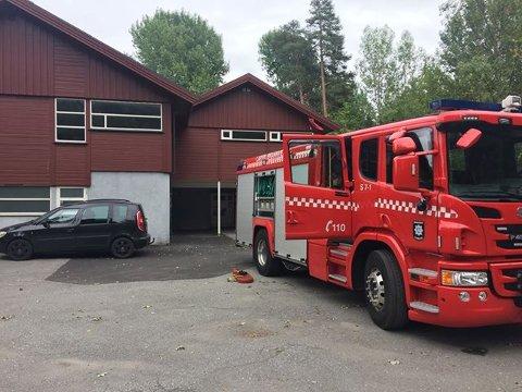 INGEN BRANN: Røykutviklingen i Valby barnehage skyldtes ikke brann. Brannvesenet lufter.