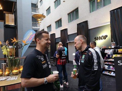 TILBAKE: Ole Gustav Gjekstad tror det blir spesielt å gå inn i Boligmappa Arena når han vender «hjem» med Vipers kommende sesong.
