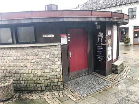 ENDELIG ÅPENT: Toalettet på Torget er nå åpent for bruk av publikum igjen.