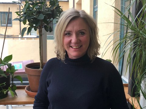 NY JOBB: Monica Hammari kommer fra Skien til Larvik som viksomhetsleder for sykehjemmene.