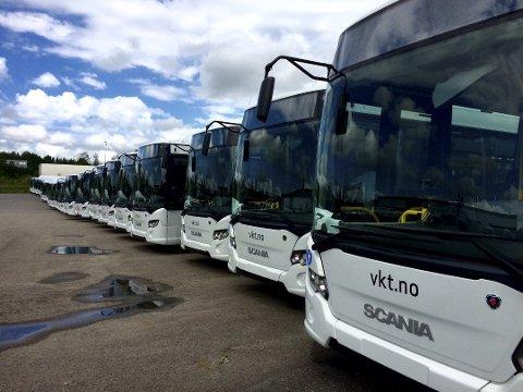 AVVIKLES: Vestfold kollektivtrafikk blir erstattet av et nytt fylkeskommunalt selskap i det nye fylket Vestfold og Telemark. (Arkivfoto)