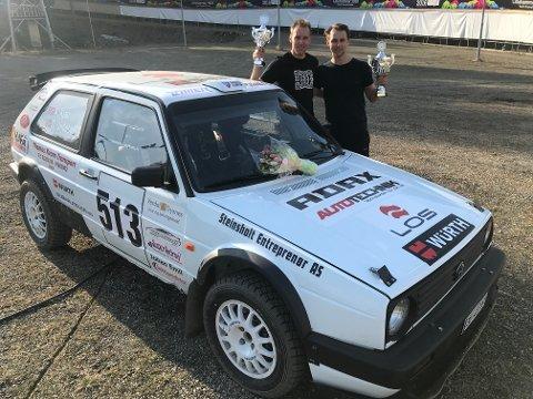 Anders og Martin Kjær tok hvert sitt NM-sølv i årets første NM i bakkeløp.