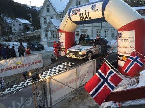 Vant igjen: Anders Kjær vant sin klasse under Rally Sørland og økte samtidig ledelsen sammenlagt i NM.