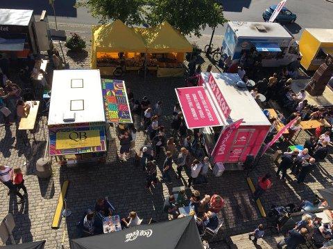 MATGLEDER: Den planlagte festivalen med matvogner i juni blir nå flyttet til høsten.