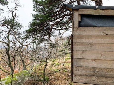 BYGGVERK: Grunneieren ble overrasket da hun plutselig oppdaget et nytt byggverk på eiendommen sin.