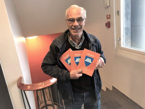 NYTT HISTORISK VERK: Brunlanes historielag er uten med sitt 23. årsskrift. Knut Rimstad har vært redaktør.