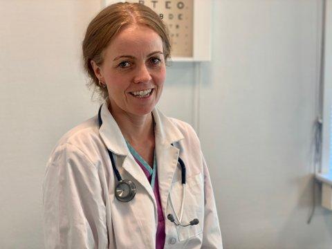 KLOKE VALG: – Kloke valg handler om valgene lege og pasient gjør for å behandle riktig og gi riktige diagnoser, sier Cathrine Abrahamsen. Hun jobber som fastlege ved Nøtterøy Legesenter.