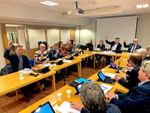 VARDEN LEGGES NED: Her stemmer Ap, Høyre og Sp for å legge ned Varden. Den endelige avgjørelsen faller i kommunestyret.