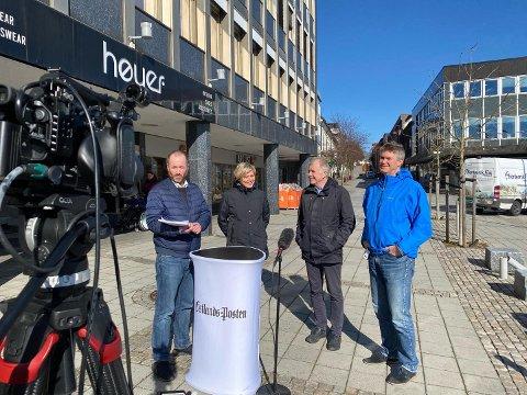 STØTTER HYTTEOPPROP:  Ordfører Erik Bringedal sa i dagens TV-sending at han støtter oppropet til helseministeren..