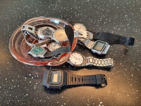 STJAL SLIKE: NMS Gjenbruk i Nansetgata ble blant annet frastjålet en nesten ny mobil og 15 armbåndsur (Foto: Privat)