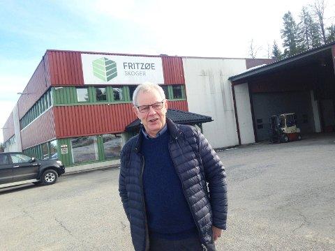 FÅTT JA: Siljan kommune, her ved ordfører Kjell Sølverød, har fått beskjed om at deres Fritzøe-vedtak er endelig bifalt.