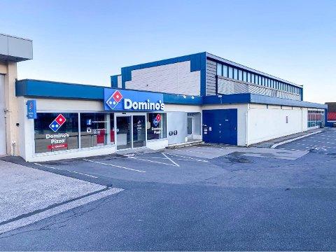 KORONASTENGT: Domino's i Nansetgata har vært stengt siden slutten av mars.