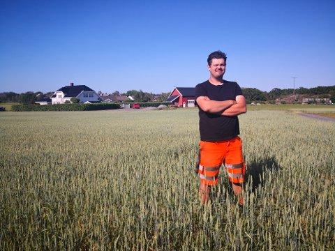 VEGGIS: Simen Tanggård (30) spiste seg inn i vegetarianernes rekker som 18-åring.
