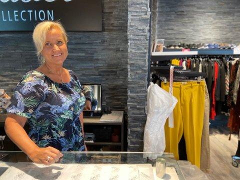 OVERTAR: Hege Hammeren Follestad er ny sjef for Haust-butikkene i både Sandefjord og Larvik.