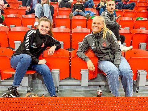 SKADER: Både Guro Ramberg og Maja Furu Sæteren er ute for resten av sesongen på grunn av skader.